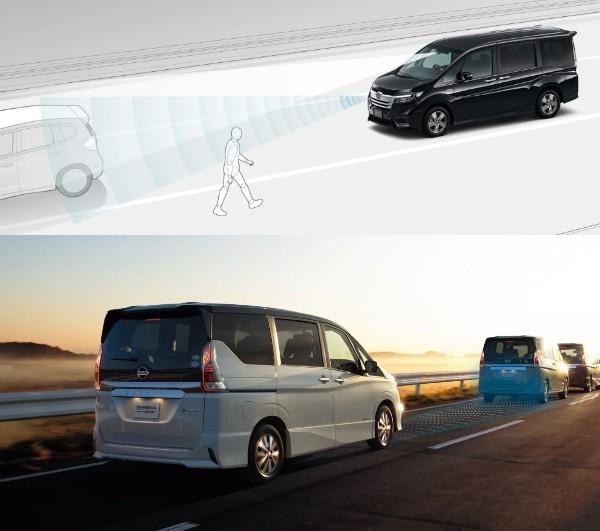 ステップワゴンとセレナの安全装備を比較