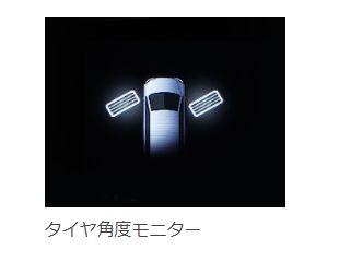 タイヤ角度モニター