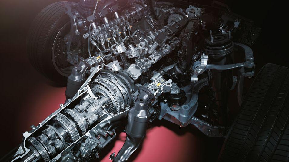 レクサスのエンジン