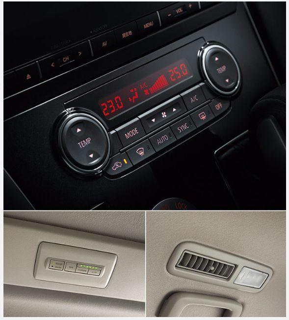新型デリカD:5のエアコン