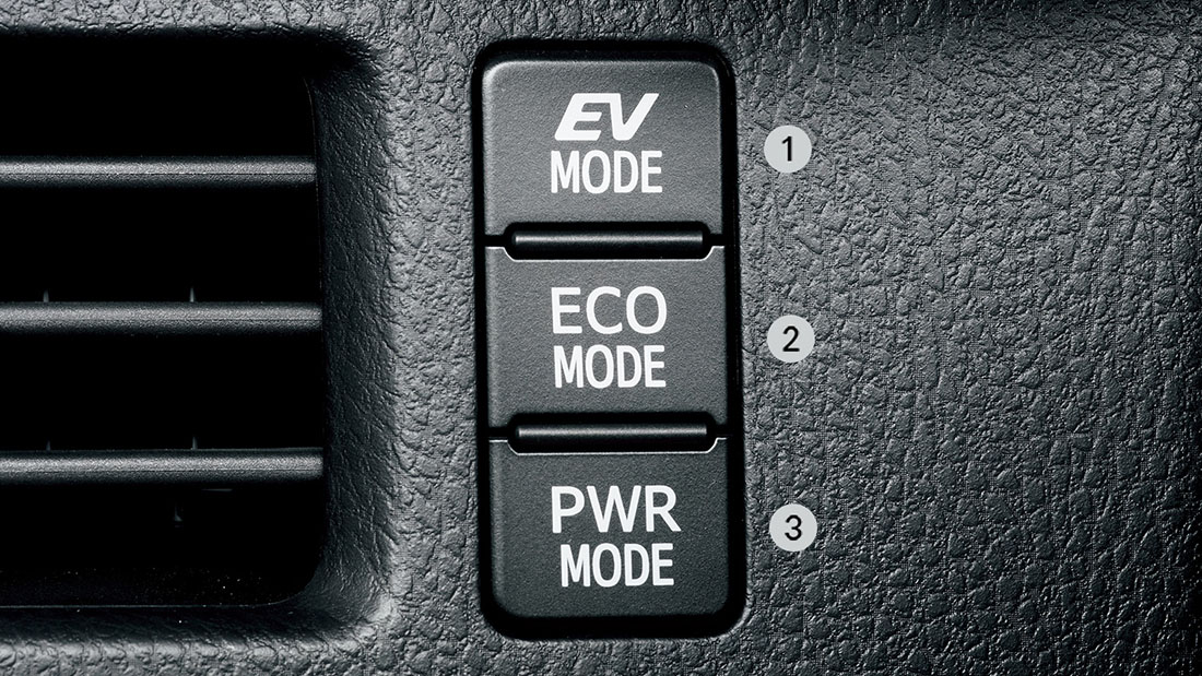 EVモードスイッチ