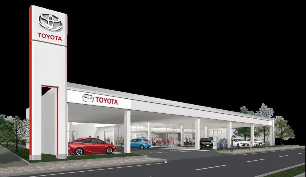 トヨタの店舗画像