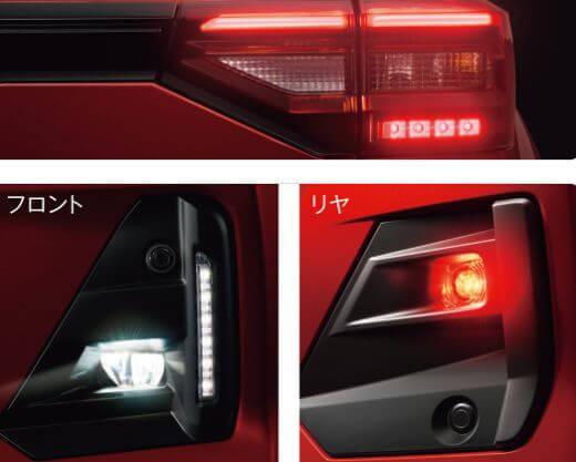 LEDフォグ&リヤフォグランプ+LEDイルミネーションランプ