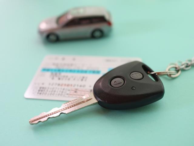運転免許と鍵